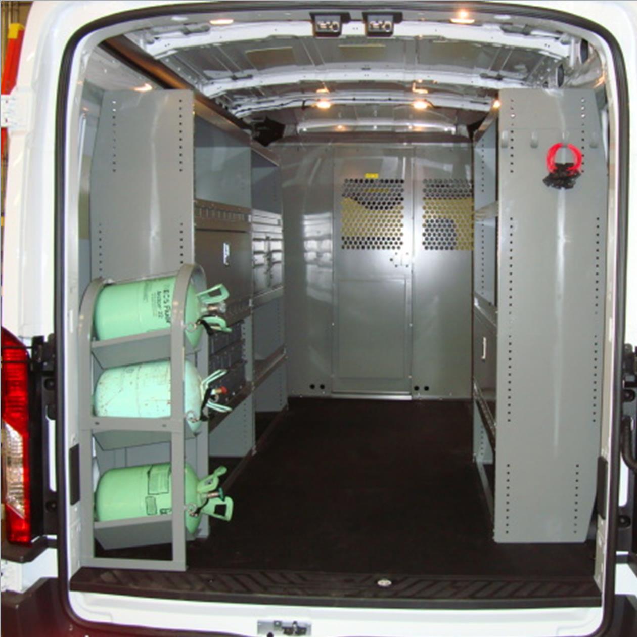 64857289bd Adrian Steel Commercial Van Interiors 144″ WB Mercedes Sprinter  HVAC Mechanical Service Package Low Roof