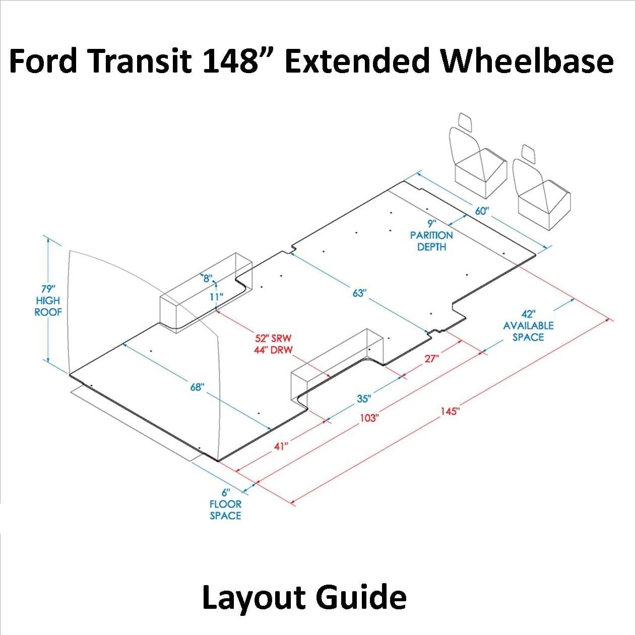 transit 130 wb layout guide u s upfitters