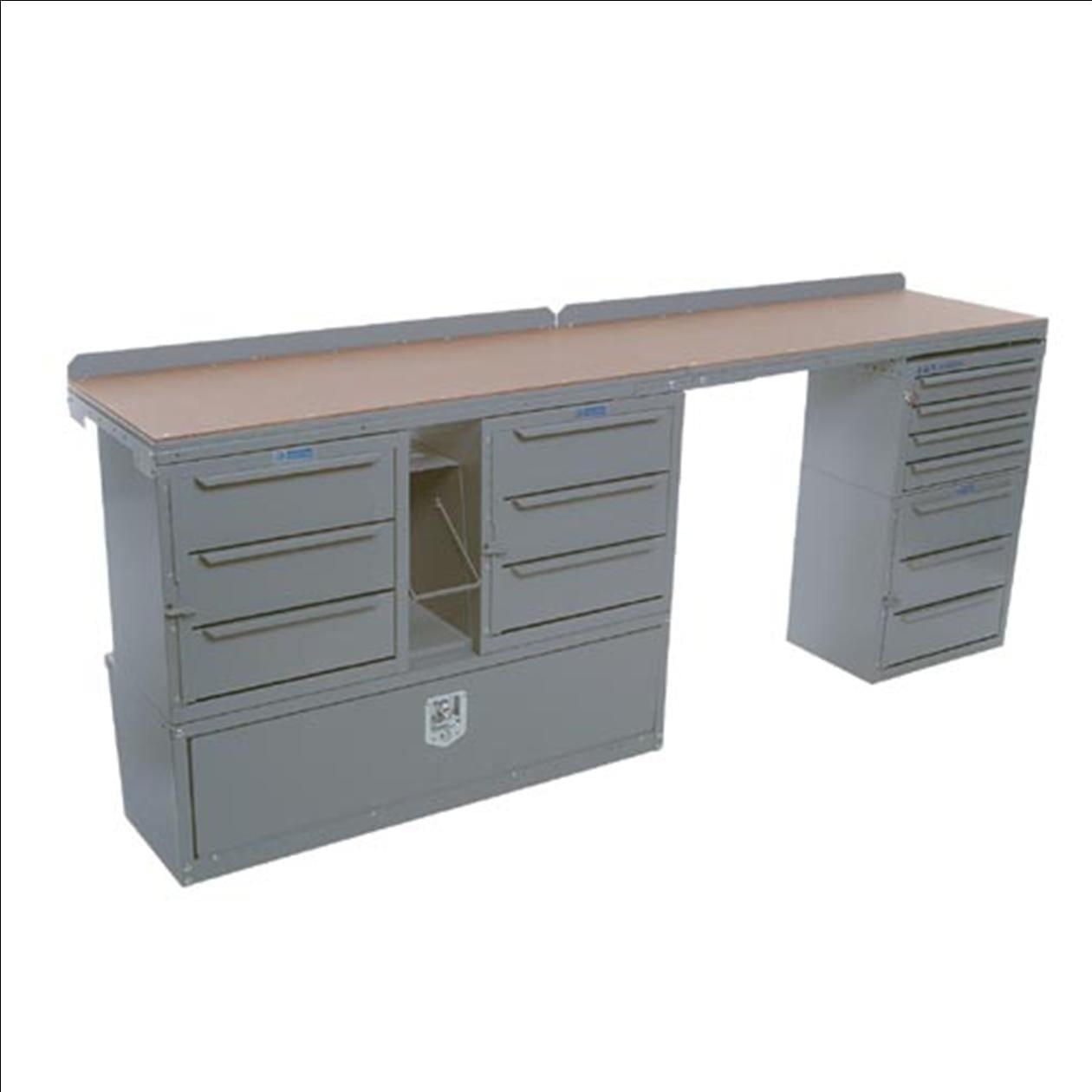 Adrian Steel Workbench Module Model Md610 U S Upfitters
