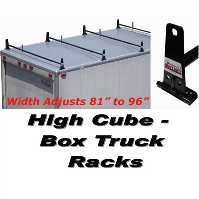 Box Truck Ladder Racks