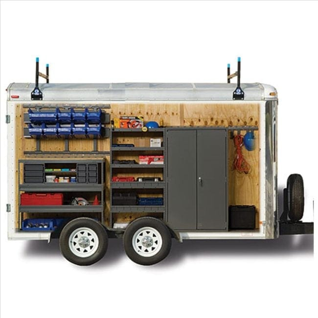 Cargo Trailer Storage Systems - Cargo Trailer Equipment - Shelving