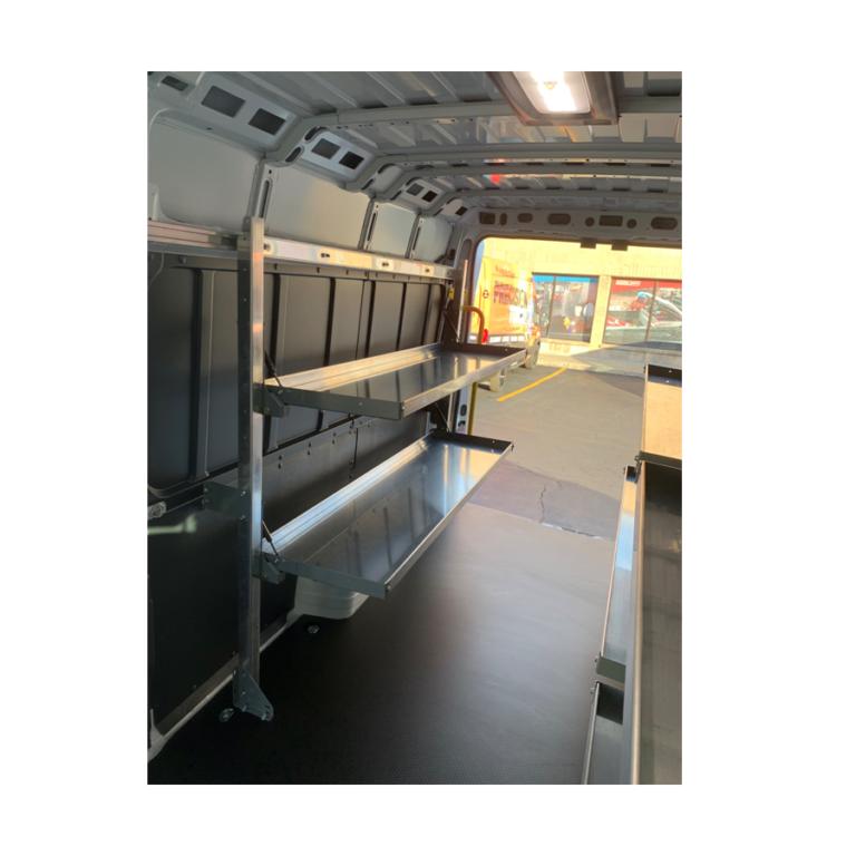 Folding Shelf Kit 20 x 48 Qty 2 ASFSFK2048