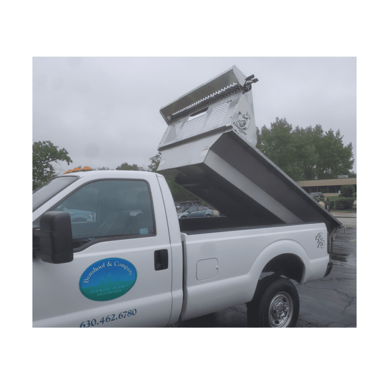 A powder-coated steel structural frame maintains the integrity of the DumperDogg Stainless Steel Dump Insert for years of use.